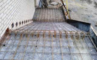 Как армировать бетонную монолитную лестницу: пошаговый пример с чертежами, схемами и фото