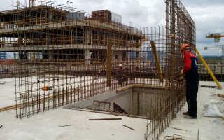 Как армировать монолитные стены из бетона?