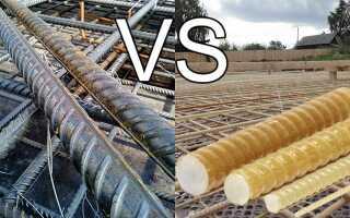 Какая арматура лучше металлическая или стеклопластиковая – сравнение двух видов
