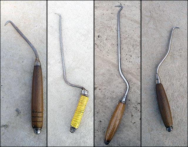 Крючки для вязки изготовленные своими руками