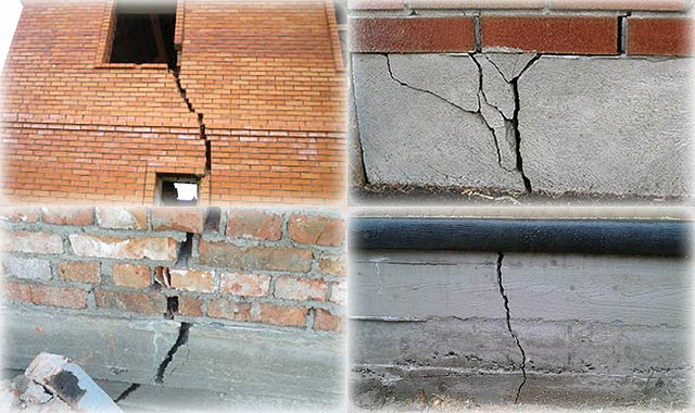 Трещины на фундаменте и их последствия