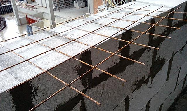 армирование газосиликатных блоков сеткой