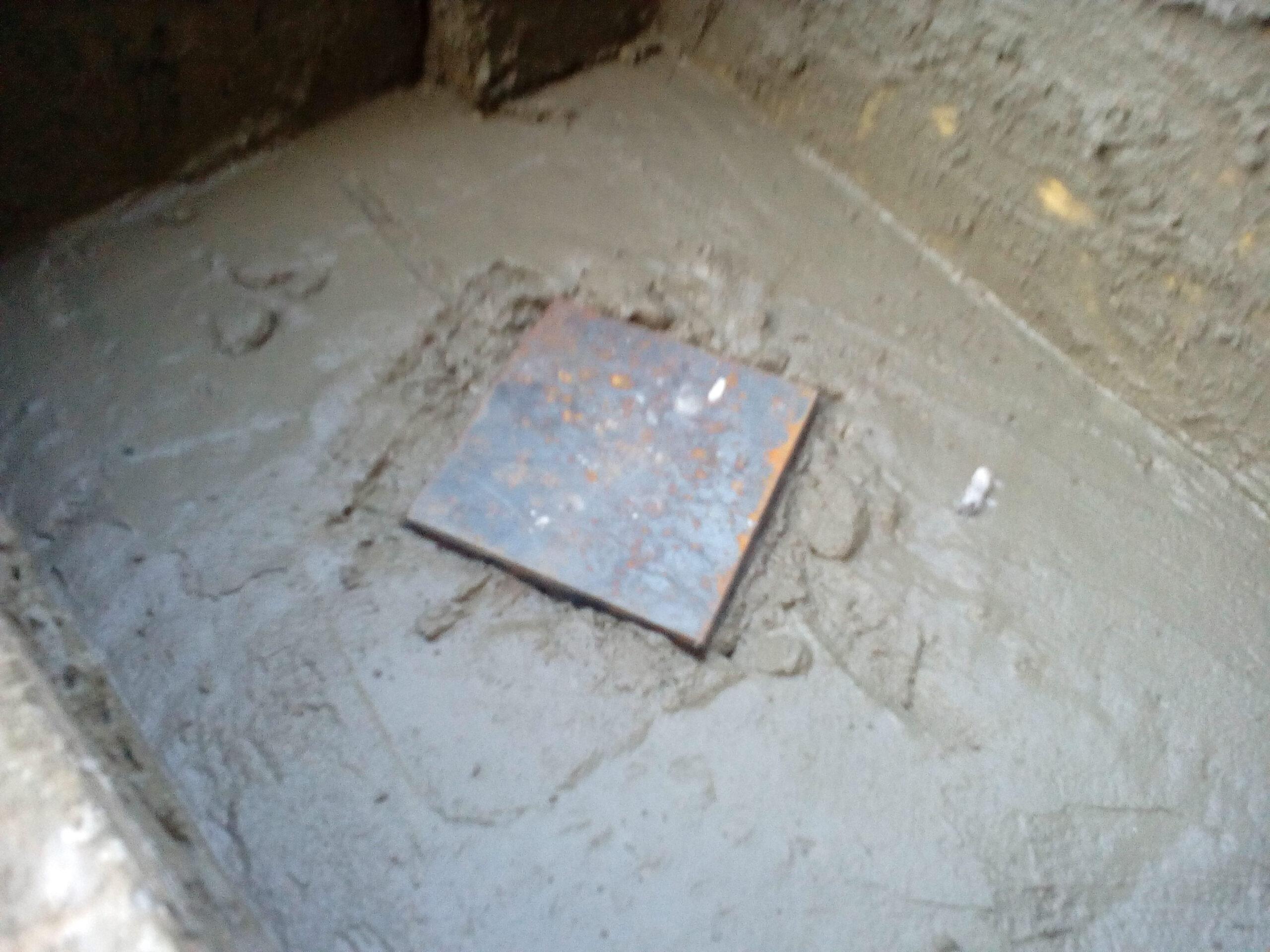 закладные детали ограждения в бетоне